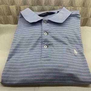 Ralph Lauren Polo Golf Shirt Blue Medium